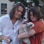 Eddie van halen and cat