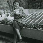 Edith Piaf and cat