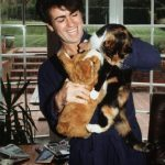 George Michael and cat