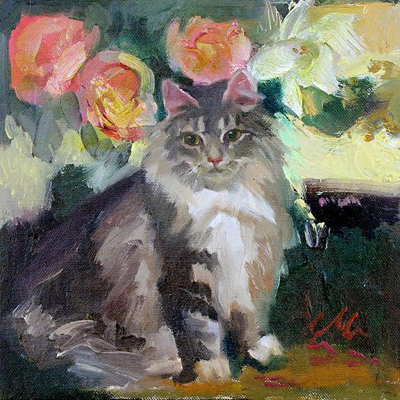 Grey Kitty, CM Cooper