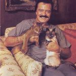 Robert Goulet and cats