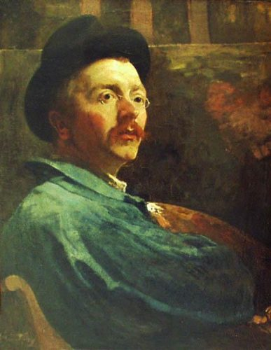 Jacobus (Jac) van Looy self portrait