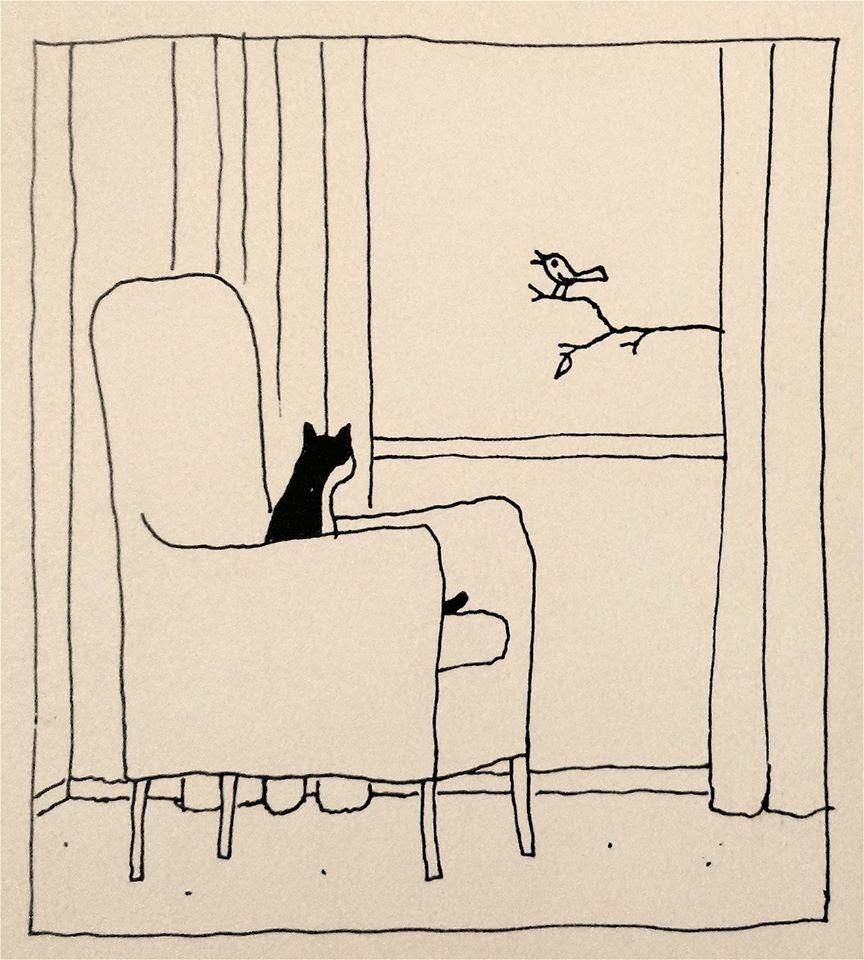 12-Franco Matticchio-Cat Cartoons