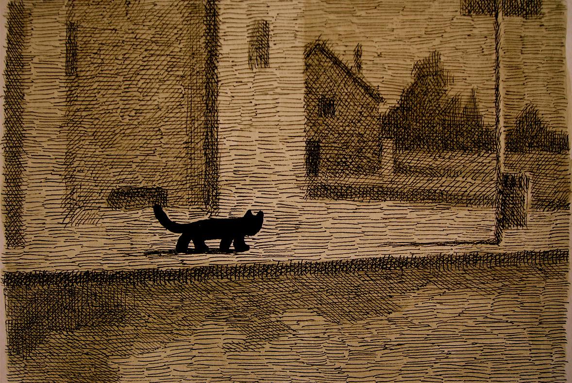 20-Franco Matticchio, Cat Cartoons