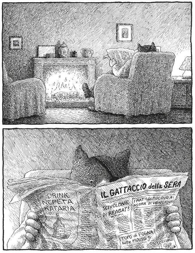 24-Franco Matticchio, cat cartoons