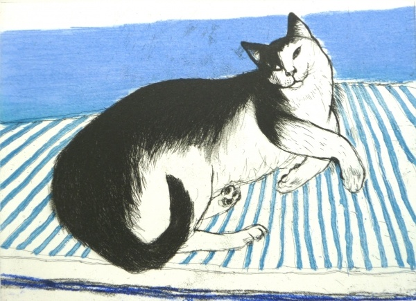 Elizabeth Blackadder (British, b. 1931) - Toby, 2003