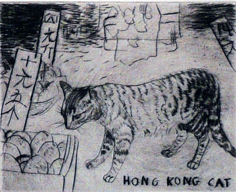 Elizabeth Blackadder, Hong Kong Cat