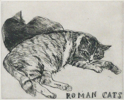 Roman Cats, Elizabeth Blackadder