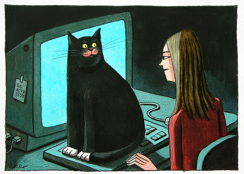 8-Franco Matticchio-Cat Cartoons