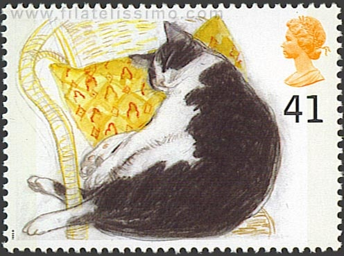 Stamp 5 Fred, 1995, Elizabeth Blackadder