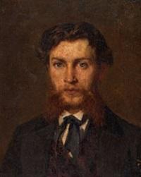 Karl Emil Mucke, by Karl Sohn 1875