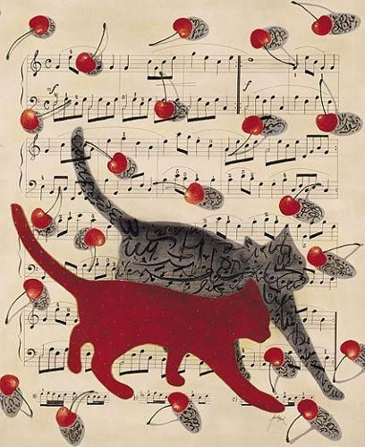Feridun Oral, Cats and Musical Notes