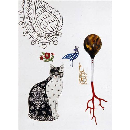 Feridun Oral, Cat and Carnation