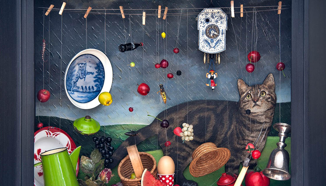 Feridun Oral, Surreal Cat