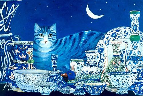 Feridun Oral, Cat and China