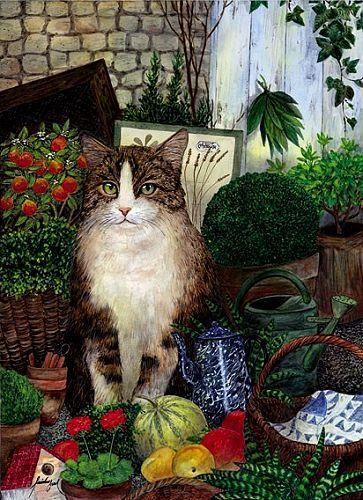 Feridun Oral, Gardening Cat