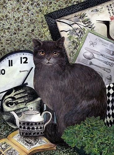 Feridun Oral, Grey Cat