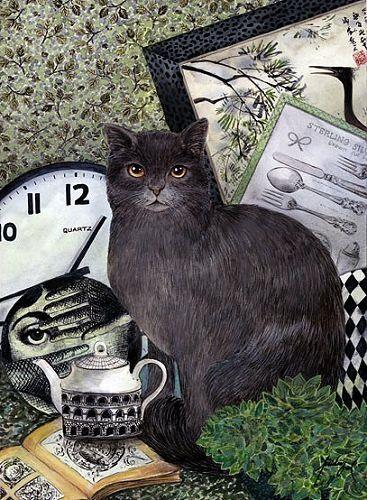 Feridun Oral, Grey Cat