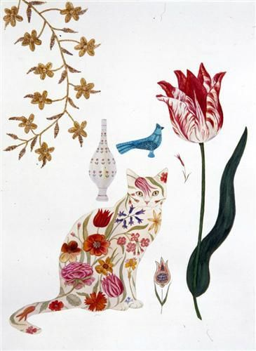 Feridun Oral, Cat and Tulip
