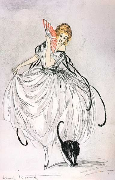 Dance with Me by Louis Icart