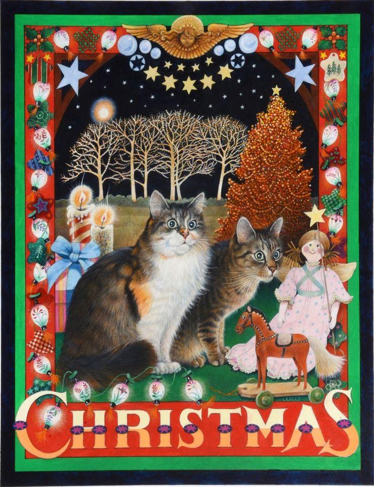 Leslie Anne Ivory, Xmas Cat