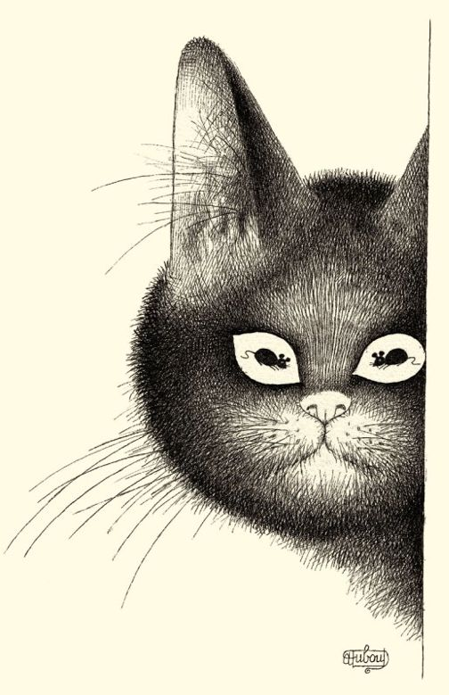 Albert Dubout, Cat Face