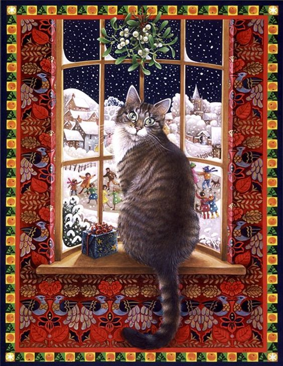 Lesley Anne Ivory, Christmas Cats