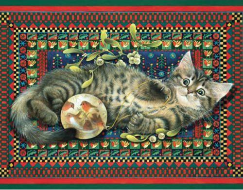4-Lesley Anne Ivory, Christmas Kitten