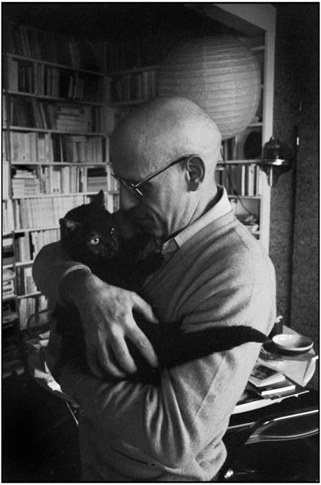 Michel Foucault, Paris. 1978 Martine Franck