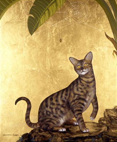 Bengal Cat and Spider, Muramasa Kudo