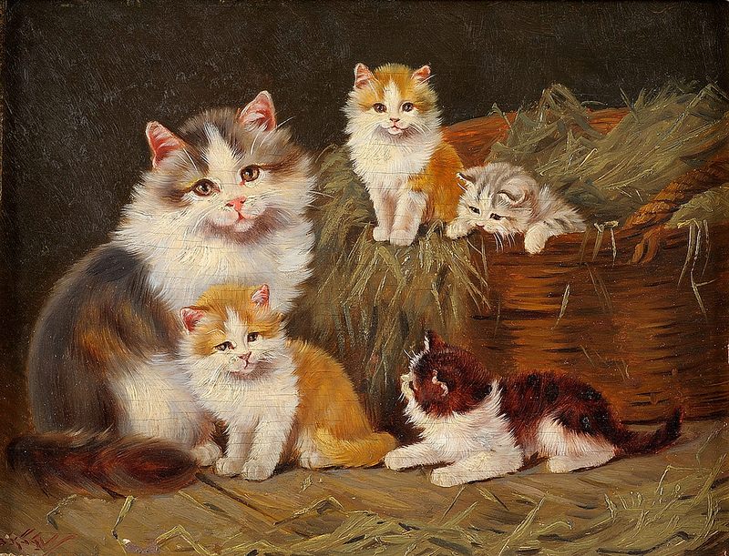 Benno Kogl Cat family
