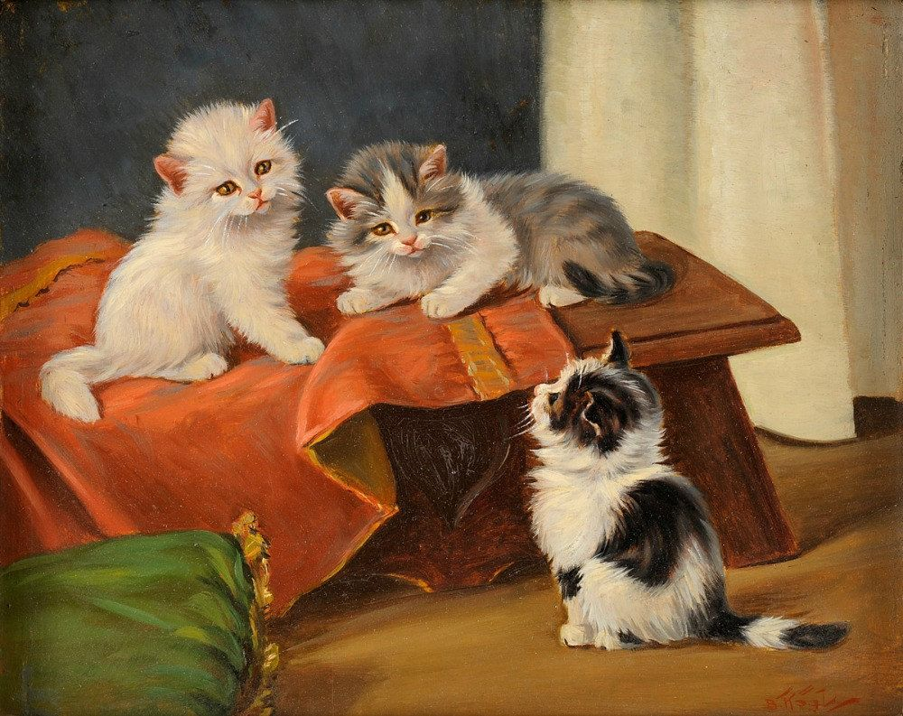Three Kittens, Benno Kogl