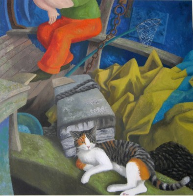 Ophelia Redpath, Lounging Cat