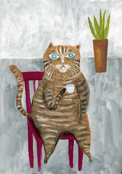 Tetsuhiro Wakabayashi, The Cat Which Relaxes